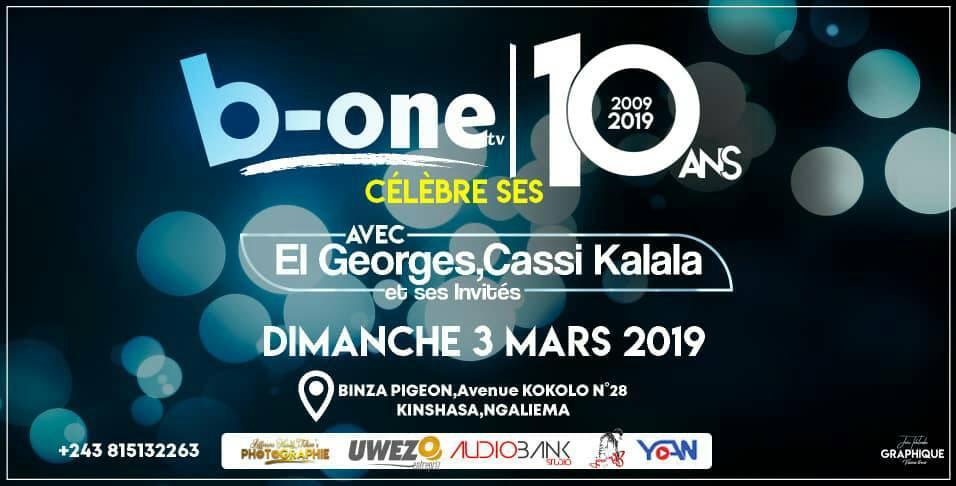 B-One télévision fête ses 10 ans
